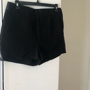 Express Black Shorts